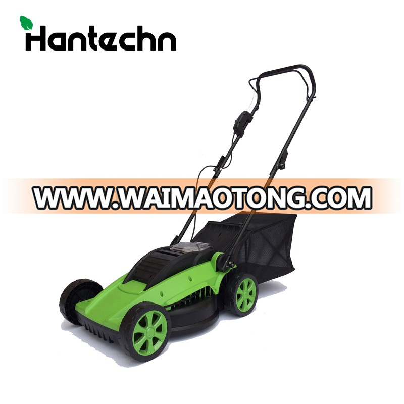 "36v electric cordless american Garden 16"" manual hand brush mower lawnmower china battery lawn mowers"